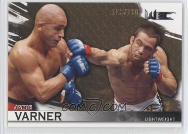 2010 Topps UFC Knockout Gold #118 - Jamie Varner /288