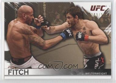2010 Topps UFC Knockout Gold #19 - Jon Fitch /288