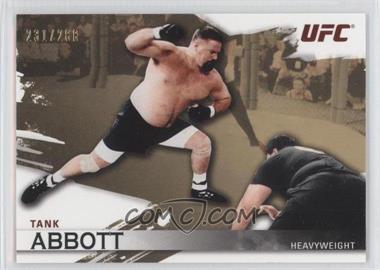 "2010 Topps UFC Knockout Gold #6 - David ""Tank"" Abbott /288"