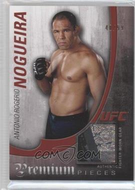 """2010 Topps UFC Knockout Premium Pieces Relics #PP-ARN - Antonio Rogerio """"Minotouro"""" Nogueira /99"""