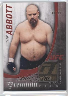 "2010 Topps UFC Knockout Premium Pieces Relics #PP-AT - David ""Tank"" Abbott /99"