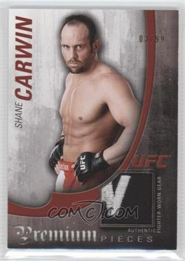 2010 Topps UFC Knockout Premium Pieces Relics #PP-SC - Shane Carwin /99