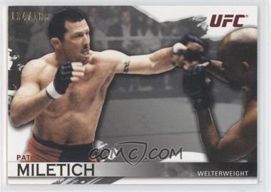2010 Topps UFC Knockout Silver #7 - Pat Miletich /188