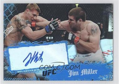 2010 Topps UFC Main Event - Autographs #71 - Jim Miller