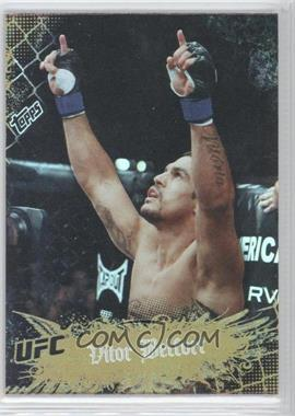 2010 Topps UFC Main Event - [Base] - Gold #35 - Vitor Belfort