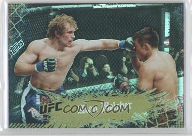 2010 Topps UFC Main Event - [Base] - Gold #36 - Alan Belcher