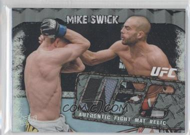 2010 Topps UFC Main Event - Fight Mat Relics #FMR-MS - Mike Swick