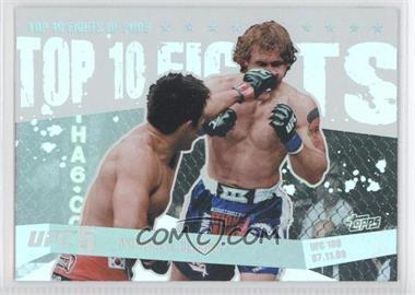 2010 Topps UFC Main Event - Top 10 Fights of 2009 #TT09 13 - Akiyama vs. Belcher