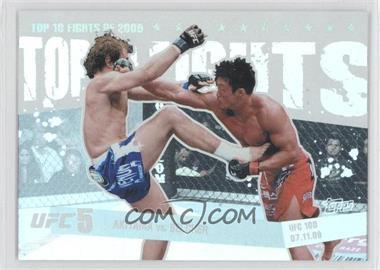 2010 Topps UFC Main Event - Top 10 Fights of 2009 #TT09 14 - Yoshihiro Akiyama, Alan Belcher