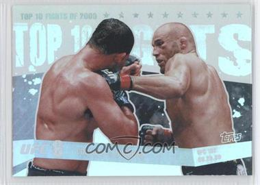 2010 Topps UFC Main Event - Top 10 Fights of 2009 #TT09 17 - Randy Couture