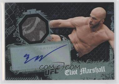 2010 Topps UFC Main Event Autographed Relic #105 - Eliot Marshall