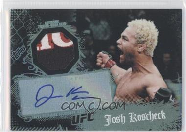 2010 Topps UFC Main Event Autographed Relic #55 - Josh Koscheck