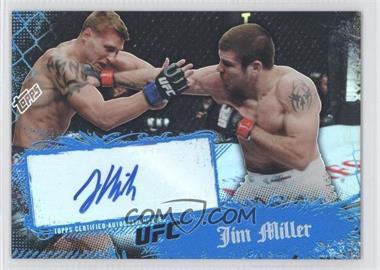 2010 Topps UFC Main Event Autographs #71 - Jim Miller