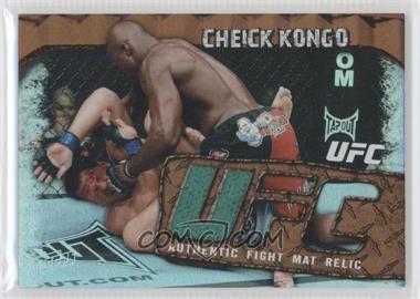 2010 Topps UFC Main Event Fight Mat Relics Bronze #FMR-CK - Cheick Kongo