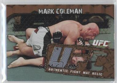 """2010 Topps UFC Main Event Fight Mat Relics Bronze #FMR-MC - Mark """"The Hammer"""" Coleman (Mark Coleman) /99"""