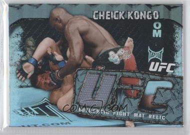 2010 Topps UFC Main Event Fight Mat Relics #FMR-CK - Cheick Kongo