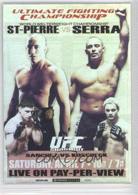 2010 Topps UFC Main Event Fight Poster Review #FPR-UFC69 - [Missing]