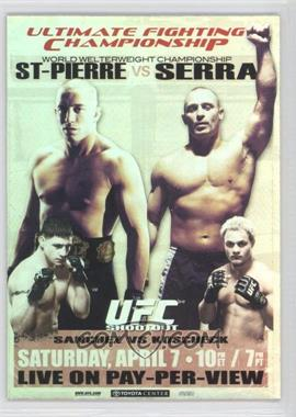 2010 Topps UFC Main Event Fight Poster Review #FPR-UFC69 - UFC 69