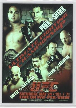 2010 Topps UFC Main Event Fight Poster Review #FPR-UFC84 - B.J. Penn, Sean Sherk
