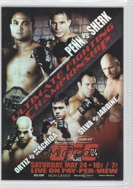 2010 Topps UFC Main Event Fight Poster Review #FPR-UFC84 - [Missing]