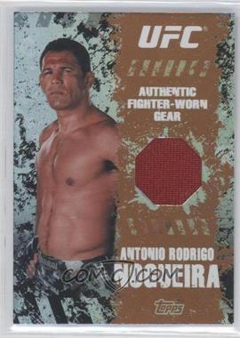 """2010 Topps UFC Main Event Fighter-Worn Relics Bronze #FR-ARN - Antonio Rodrigo """"Minotauro"""" Nogueira /88"""
