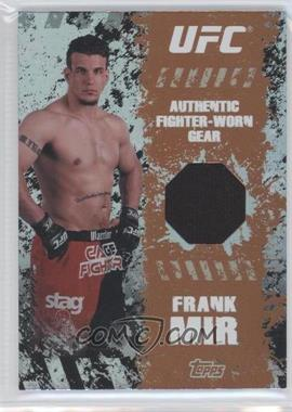 2010 Topps UFC Main Event Fighter-Worn Relics Bronze #FR-FM - Frank Mir /88