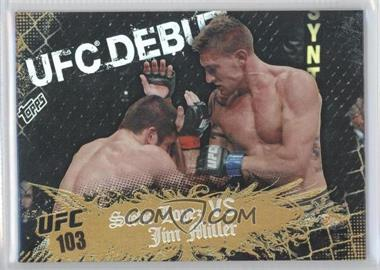 2010 Topps UFC Main Event Gold #137 - [Missing]