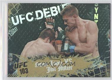 2010 Topps UFC Main Event Gold #137 - Steve Lopez, Jim Miller