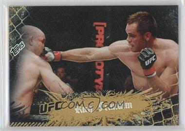 2010 Topps UFC Main Event Gold #15 - Rich Franklin