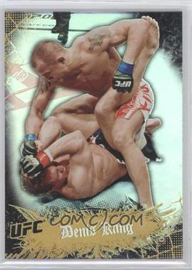 2010 Topps UFC Main Event Gold #48 - Denis Kang