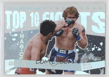 2010 Topps UFC Main Event Top 10 Fights of 2009 #TT09 13 - Akiyama vs. Belcher