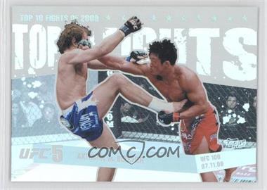 2010 Topps UFC Main Event Top 10 Fights of 2009 #TT09 14 - Yoshihiro Akiyama, Alan Belcher