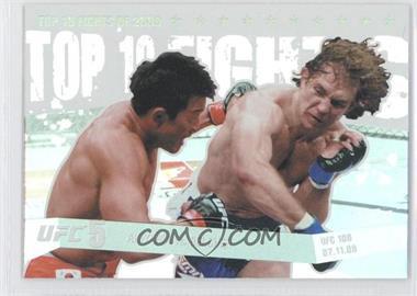 2010 Topps UFC Main Event Top 10 Fights of 2009 #TT09 15 - Yoshihiro Akiyama vs. Alan Belcher