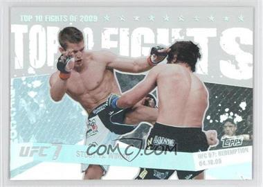 2010 Topps UFC Main Event Top 10 Fights of 2009 #TT09 20 - Sam Stout vs. Matt Wiman