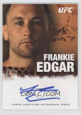 2010 Topps UFC Series 4 - Autographs #FA-FE - Frankie Edgar