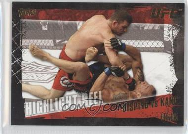 2010 Topps UFC Series 4 - [Base] - Gold #195 - Highlight Reel - Michael Bisping vs Denis Kang