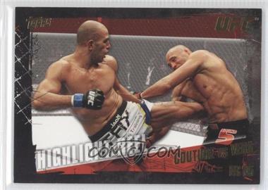 2010 Topps UFC Series 4 - [Base] - Gold #197 - Highlight Reel - Randy Couture vs Brandon Vera