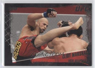 2010 Topps UFC Series 4 - [Base] - Onyx #18 - Eliot Marshall /188