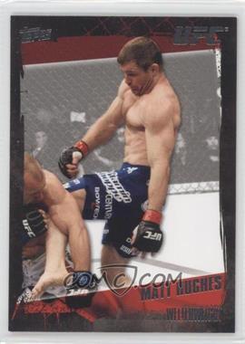 2010 Topps UFC Series 4 - [Base] #28 - Matt Hughes