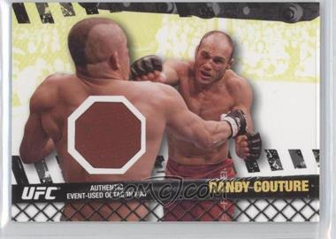 """2010 Topps UFC Series 4 - Fight Mat Relics #FM-RC - Randy """"The Natural"""" Couture (Randy Couture)"""