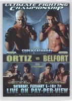 UFC51 (Tito Ortiz, Vitor Belfort, Tim Sylvia, Andrei Arlovski, David Terrell, E…
