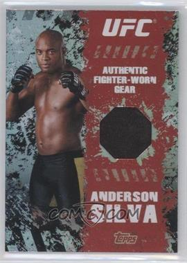 """2010 Topps UFC Series 4 - Fighter Gear Relics #FR-AS - Anderson """"The Spider"""" Silva (Anderson Silva)"""