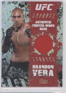 2010 Topps UFC Series 4 - Fighter Gear Relics #FR-BV - Brandon Vera