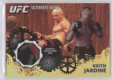 2010 Topps UFC Series 4 - Ultimate Gear Relic - Gold #UG-KJ - Keith Jardine /188