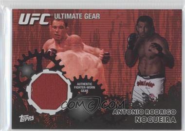 "2010 Topps UFC Series 4 - Ultimate Gear Relic - Onyx #UG-AN - Antonio Rodrigo ""Minotauro"" Nogueira /88"
