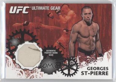 2010 Topps UFC Series 4 - Ultimate Gear Relic #UG-GSP - Georges St-Pierre