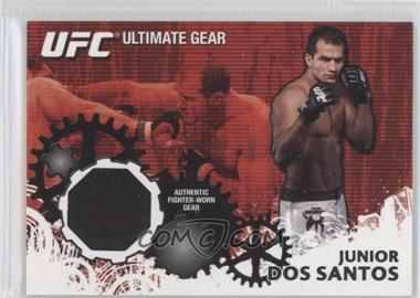 2010 Topps UFC Series 4 - Ultimate Gear Relic #UG-JDS - Junior Dos Santos