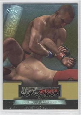 2010 Topps UFC Series 4 [???] #GTG-7 - Georges St-Pierre