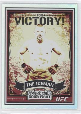 """2010 Topps UFC Series 4 [???] #MP1 - Chuck """"The Iceman"""" Liddell (Chuck Liddell)"""
