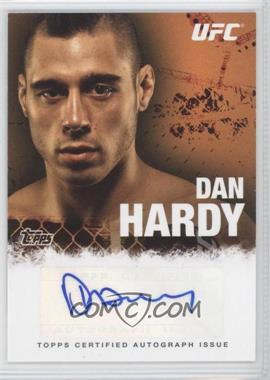 2010 Topps UFC Series 4 Autographs #FA-DH - Dan Hardy